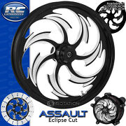 Rc Components Assault Eclipse Custom Motorcycle Wheel Harley Touring Baggers 21