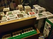 1975-2018 Hess Truck Lot Of 33 Red Switch 50th Shipping Boxes Bags Collection