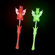 Lumistick Colorful Blinking Stick Toy 17 Inch Dragon Light-up Wand Lot