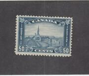 Canada Mk3282 176 Vf-mlh 50cts 1930 Grand Pre, Ns/ Dull Blue Cat Val 300
