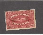 Canada Mk916  E2 Fvf-mnh 20cts 1922 Special Delivery / Carm Cat Val 300