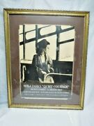 Rosa Parks Quiet Courage Framed Charcoal Drawing 1994 By Jameel Rasheed 17/220