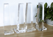 9andrdquo Lucite Legs Furniture Acrylic Legs Clear Set Of 4