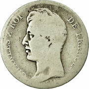 [497596] Coin, France, Charles X, Franc, 1826, Toulouse, Vg8-10, Silver