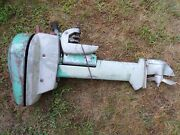 Vintage / Antique Scott Atwater Outboard Boat Motor Parts Or Repair