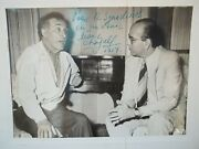 Marc Chagall Autographed Photo 1954 With Todd Mueller Coa