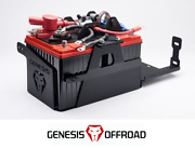 Genesis Offroad Dual Battery Kit W/ 200 Amp Isolator For 20-21 Jeep Gladiator Jt