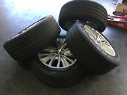 Bmw X5 E70 19 Wheels And Tires With Tire Pressure Monitor Sensors