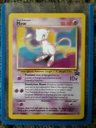 Black Star Promotional Mew Card Mint Condition