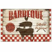 Barbeque Grilling Beef Pork Chicken Paper Placemats 24 Sheets