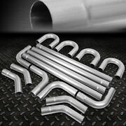 3od Diy Custom Exhaust Pipe Kit 16-pieces Straight And 45 90 Degree And U-bends