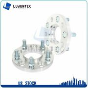 5x114.3 5x4.5 15mm 2 Hubcentric Wheel Spacers 14x1.5 Fits Ford Mustang 70.5 Cb