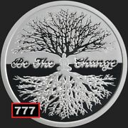 2019 1oz Be The Change Conscientia 26 Ag 999 Proof Silver Shield Group Ssg 777