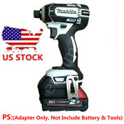 Makita 18v Electric Drill Tools Adapter Work With Milwaukee 18v Li-ion Batteries