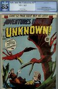 Adventures Into Unknown 17 Pgx 8.5 Very Fine+- 1951 White Pages