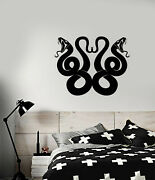 Vinyl Wall Decal Celtic Snake Ornament Animals Stickers 3940ig