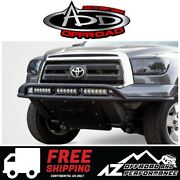 Add Lite Front Bumper Top Hoop Tube Black For 2007-2013 Toyota Tundra