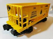 Lionel Railroad Club One Bay Center Flow Hopper 0 And 027 Scale Special Edition