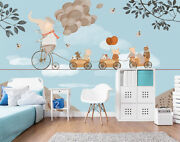 3d Piggy O200 Wallpaper Wall Mural Removable Self-adhesive Sticker Kids Amy