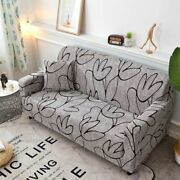 Slipcover Sofa Cover Spandex Modern Polyester Couch Chair Protector Elastic New
