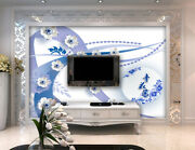 3d Porcelain O388 Wallpaper Wall Mural Removable Self-adhesive Sticker Kids Amy