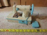 Vintage Ljn Toys Battery Operated Betsey Clark Hallmark Sewing Machine. Works