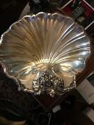 Silver Clamshell Serving Dish Reed And Barton
