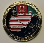 Omega Ops / Special Operations Task Force Southeast Navy Seals Challenge Coin