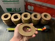 122 Qty Massive Lot 4andrdquo Od Large Brass Washer Military With 2andrdquo Diameter Hole