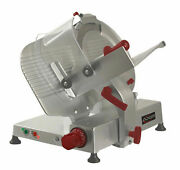Axis Ax-s14 Ultra Manual Slicer 14 Diameter Blade -gravity Feed - V-belt Driven