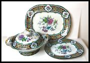 Ca 1850andrsquos Charles Meigh And Son Ironstone Serving Set