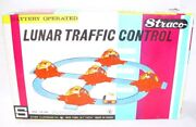 Yone Japan Straco Usa Lunar Traffic Control Battery Operated Space Toy Set Mb`69