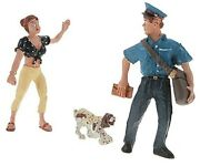 Woodland Scenics G Scale Scenic Accents Figures/people Polly's Postal Pursuit