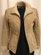 Vintage Women's Giacca Leather Jacket, Warm, Lined Interior/cuffs/collar, Sizes