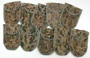 Vintage Austrian Army Shovel Cover In K4 Pea Camo 1960's/70's Good Used