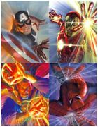 Marvelocity Captain America Iron Man Doctor Strange Spider-man Fine Art Canvases