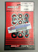 Manley 42446-16 I.d. Valve Spring Cup Locators For 1.400 Springs Set Of 16