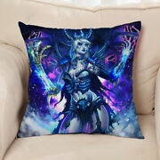 New Frost Sindragosa World Of Warcraft 15.7 Inch Double Side Sofa Pillow Cushion