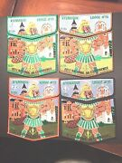 Oa Ktemaque Lodge 15 2012 Noac Set Of Four Two Piece Sets 17 Of Only 25 Sets
