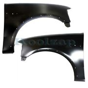 Capa 97-02 Expedition, 97-04 F-series Pickup Front Fender Left And Right Set Pair