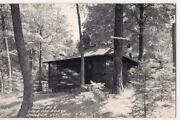 Wild Cat Lodge Cabin 6 Boulder Junction Wisconsin Wi Real Photo Postcard
