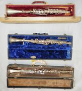 Vintage Metal Clarinet For Playing, Art Piece Or Home Decor Conversation Piece