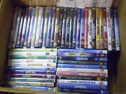 52 Disney Live Action Children's Dvd Lot Pirates Narnia Holes  2.00 Each