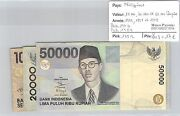 3 Tickets Indonesia - 10.000, 20.000 And 50.000 Rupees - 1999/98 And 99