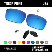 Anti Scratch Polarized Replacement Lens And Nose Pads For- Drop Point Oo9367