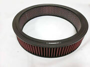 Universal Washable 14 X 3 Round High Flow Air Cleaner Filter Element 14 X 3