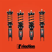 Riaction Coilovers 32 Way Adjustable For Honda Civic Crx 1988-1991