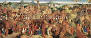 Hans Memling Advent And Triumph Of Christ 1480 Artist Painting Reproduction Oil