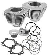 S And S Cycle 97 And 106 Big Bore Kit Silver 910-0201
