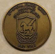 10th Special Forces Group Airborne Bad Tolz Germany Army Challenge Coin Se